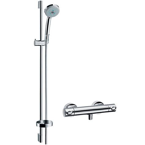 Hansgrohe Shower Sets by Buy Hansgrohe Croma 100 Shower Set Lewis