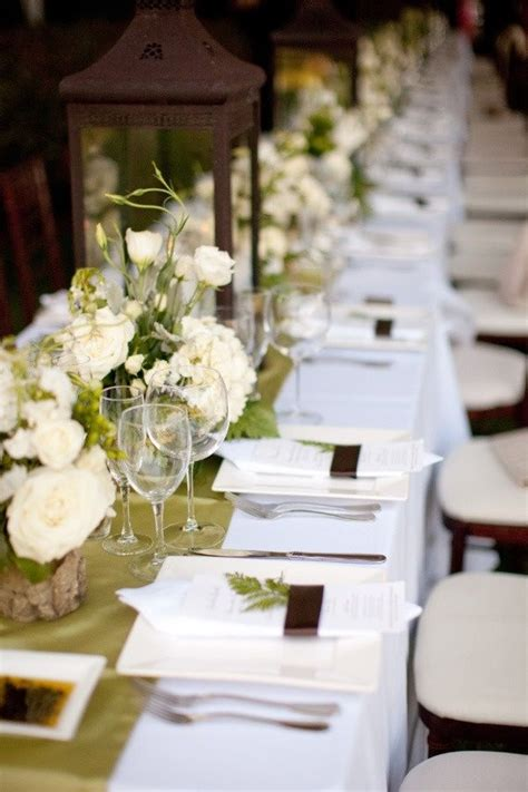 beautiful table settings green and brown 15 best images about wedding table setting on pinterest