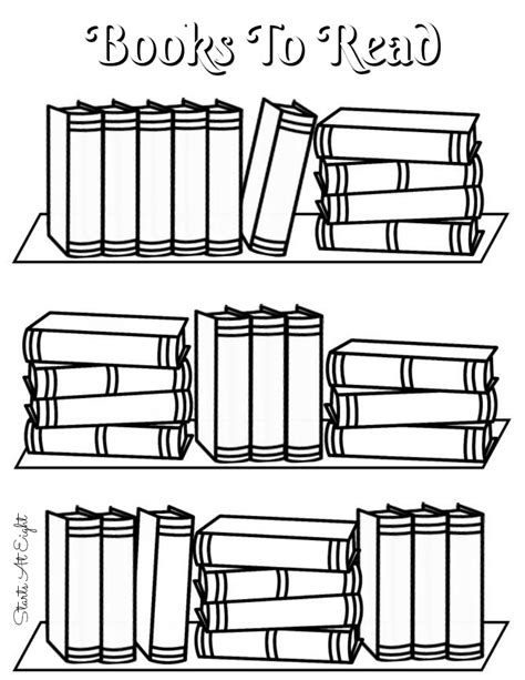 Read A Book Clipart Black And White Collection Printable Books