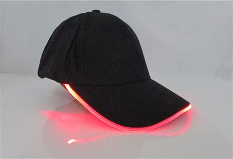 baseball caps with led lights built in alibaba led baseball cap with built in led light cap cheap