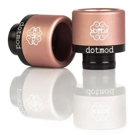 Dotmod Petri 24 Authentic Black dotmod petri frictionfit drip tips v2 authentic black out of stock