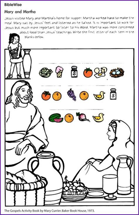 free bible coloring pages and martha 23 best images about martha on