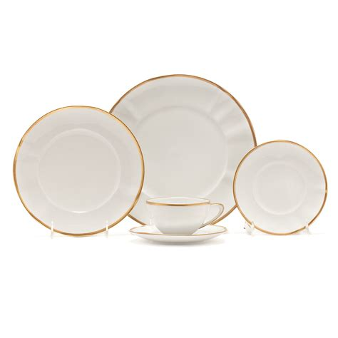 Simply Set By Anni weatherley simply gold dinnerware gump s