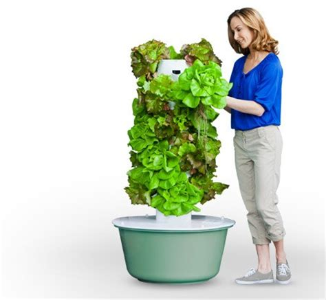 Tower Vegetable Garden Aquaponic Vertical Gardens For Smaller Homestead Indoor