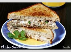 Mayo chicken sandwich recipe | Chicken sandwich with ... Lemon Rice Recipe South Indian Style