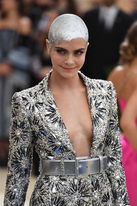 Met Gala 2017: Cara Delevingne Is The Robot Girl of Our