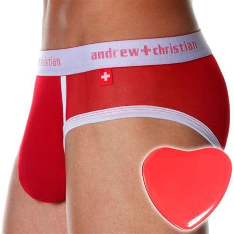 andrew christian for valentines day sweetheart brief