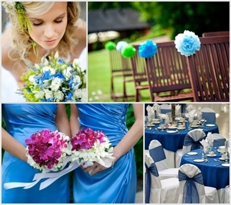 blue wedding color schemes 6 charming wedding color scheme ideas for the best looking
