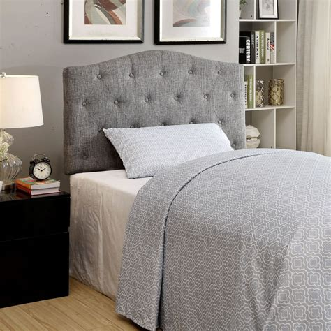 twin headboards canada whi grace twin headboard grey 151 892t gy modern