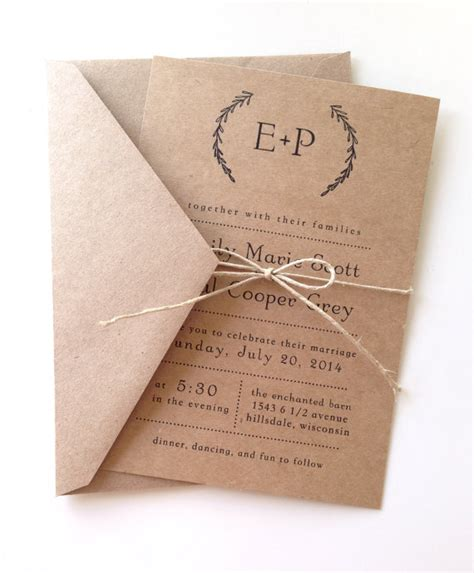 rustic photo wedding invitations 20 rustic wedding invitations any will