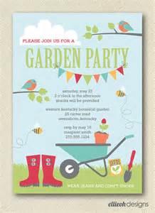 items similar to kids garden party invite printable