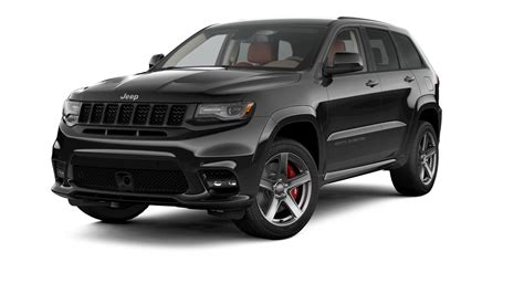 jeep cherokee black with black jeep 174 grand cherokee srt luxury performance suv