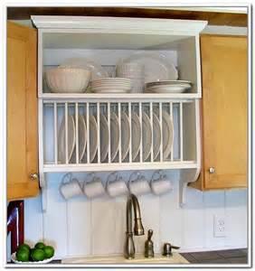 dish storage rack cabinets home design ideas
