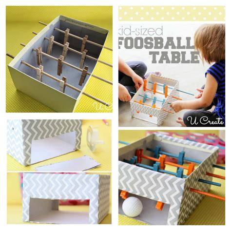 diy from shoe boxes diy foosball table with shoe box beesdiy