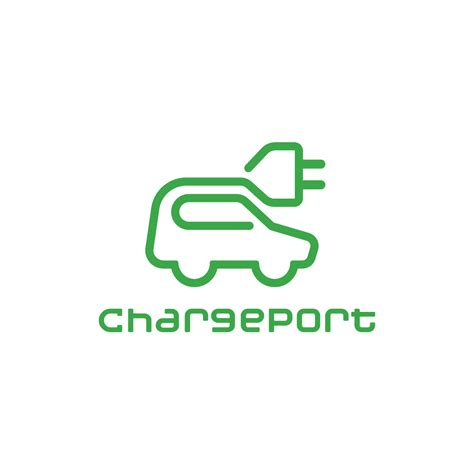 electric vehicles logo for sale chargeport electric car ev logo design logo cowboy