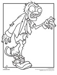 free creepy zombie coloring pages