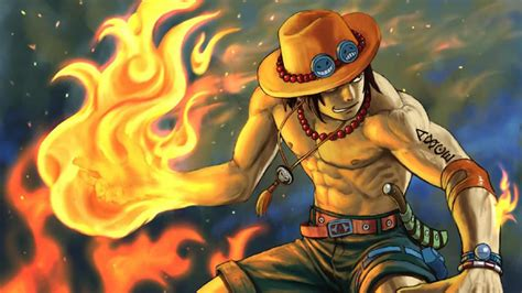 wallpaper background one piece one piece ace wallpapers wallpaper cave