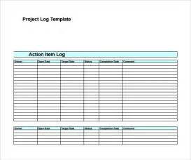 Project Manager Email Templates by Sle Decision Log Template 9 Free Documents In Pdf Word