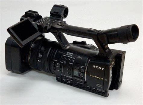 format video camera sony nxcam first sony professional camcorder with avchd format