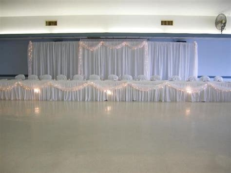 how to make pipe and drape like the pipe and drape backdrop and lighted tulle on