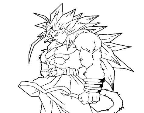 goku super sayayin fase 4 para colorear dibujos para colorear de goku fase 1000 imagui