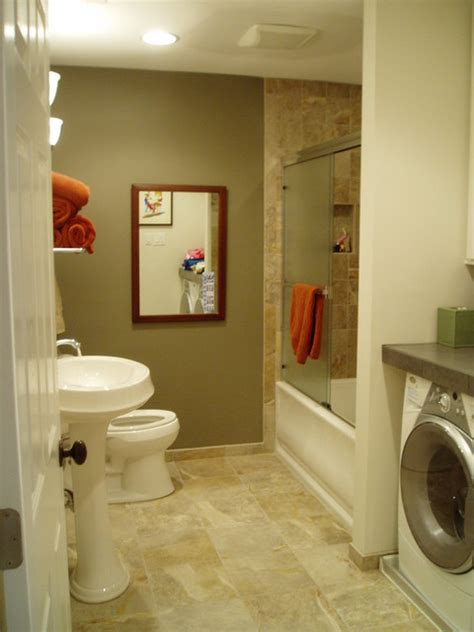 bathroom laundry room combo bathroom remodel guest bath w laundry room combo