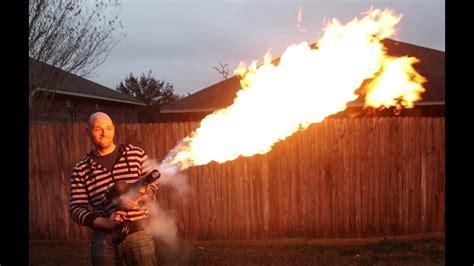 diy flame thrower    youtube