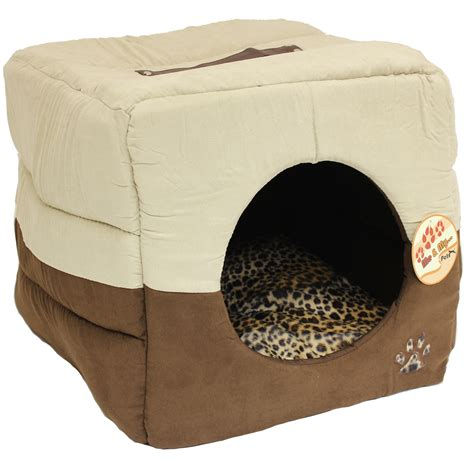 igloo bed me my luxury soft cat igloo box pet bed warm house cube puppy kitten ebay