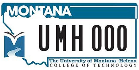 university of montana helena college 20 montana license plate designs you probably don t see