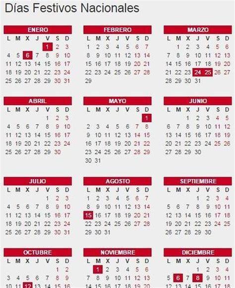 calendario de feriados de ecuador 2016 calendarios xjb size 780 x calendario laboral 2016 todos los festivos oficiales