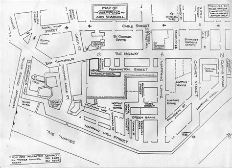 sketch map maker sketch map of the wapping area wapping dispute