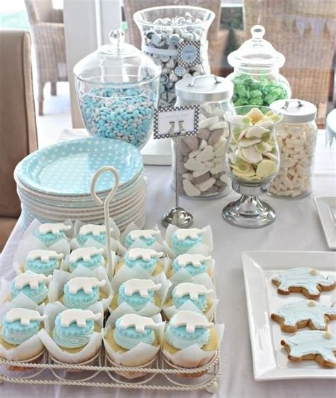 baby shower dessert table ideas photograph boy baby shower