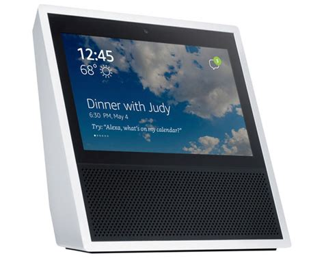 amazon echo show amazon to update the echo with a touchscreen camera and