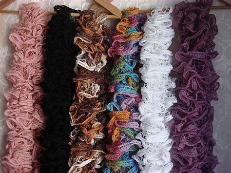Handmade Knitted Scarves For Sale - how to make scarves mamishka s workshop ruffle