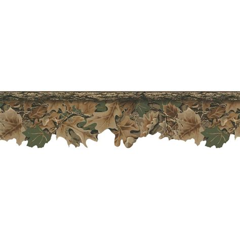 camouflage hunting decor lake forest lodge realtree camouflage border