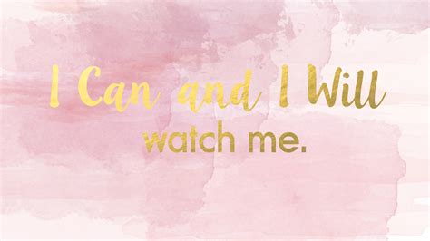 pink laptop desk quot i can and i will quot desktop wallpaper pink pastel and gold