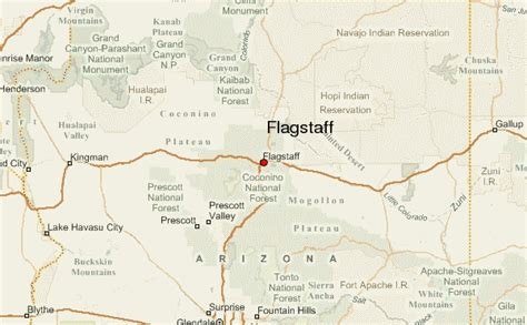 map of arizona flagstaff flagstaff location guide