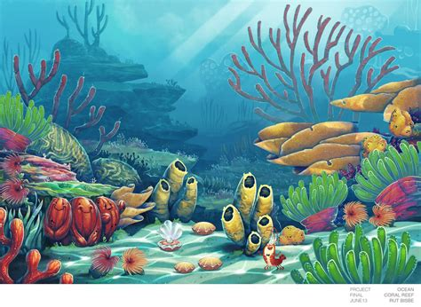Whole Wall Murals painted coral reef backdrop backdrop google search