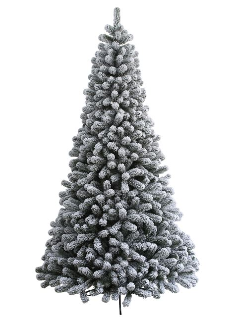 6 foot prince flock artificial christmas tree unlit