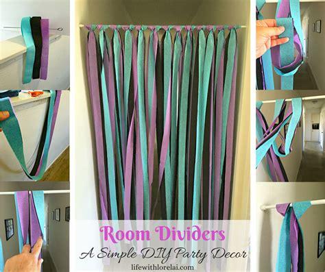 diy room decorations casey room dividers a simple diy decor with lorelai