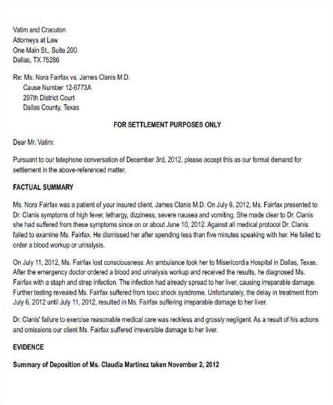 36 demand letter sles