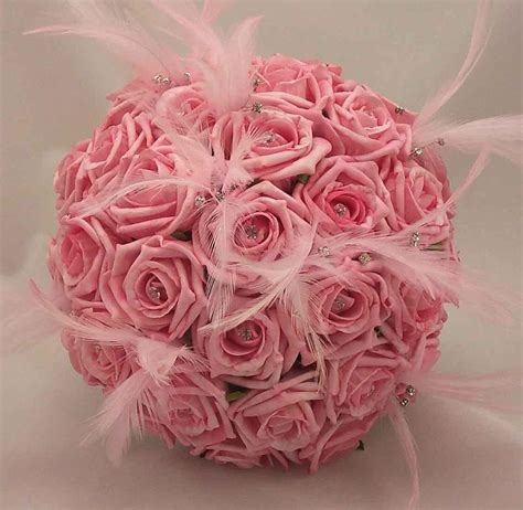 Pink Wedding Flower Bouquets by Wedding Flowers Flowers Magazine