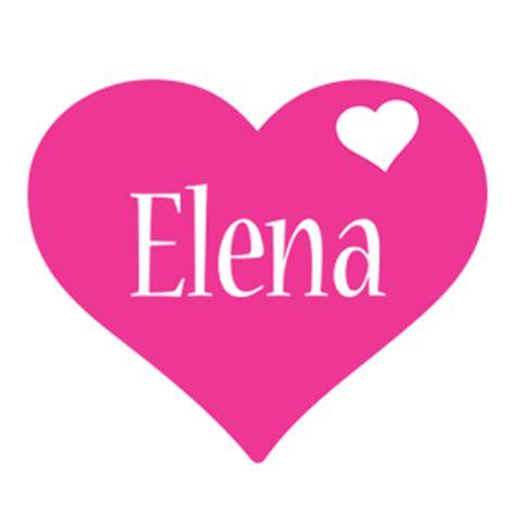 love elena i love you generator i love ny elena logo name logo generator i love love heart