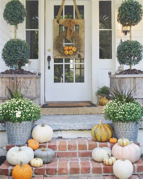 front porch decorating ideas for fall fall decor front fall front porches house of hargrove