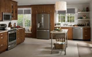 Rustic Kitchen Appliances - kitchen appealing ge kitchen appliances reviews stainless steel appliances round white shade