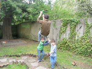 How To Make A Zip Line For Your Backyard Set Up A Safe Zipline Project For Your Kids Dimension