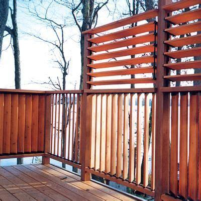 creative diy fence outdoor project idea louvered hardware
