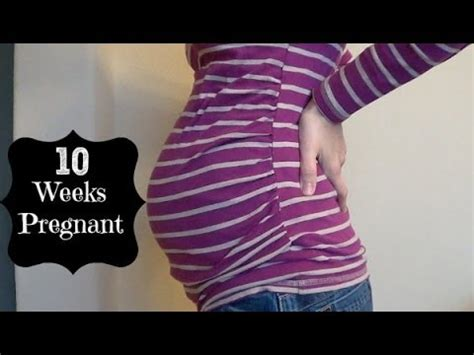 10 weeks pregnant with baby #2 youtube