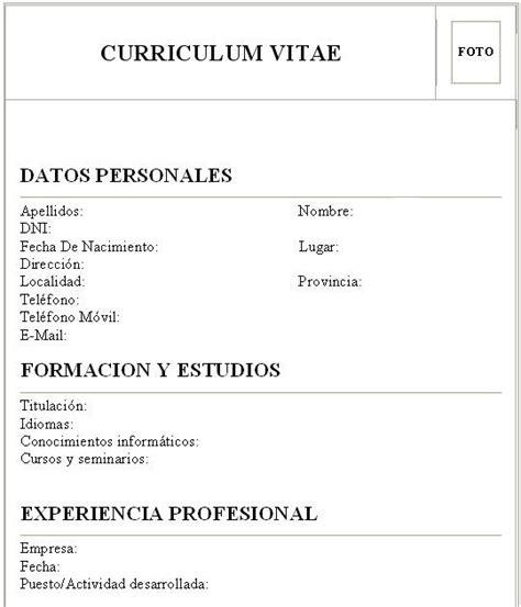 Modelo Curriculum Vitae Secundario Completo Empleo Y Capacitacion Laboral 191 Como Hacer Un Curriculum Vitae