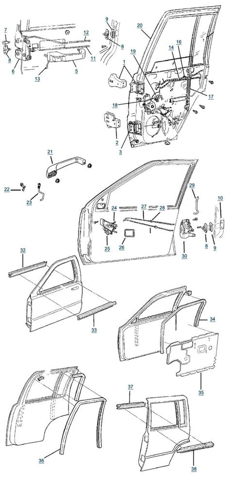 1999 jeep grand parts free freight on orders 1999 jeep grand parts diagram automotive parts